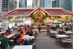 Lau Pa Sat Singapore food center
