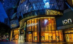 Orchard road Singapore shopping centers 1