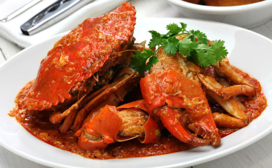 Chili Crab Singapore Best Food