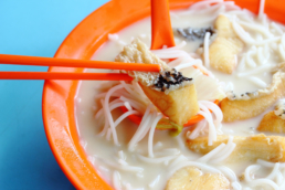 Fish Bee Hoon Noodle soup