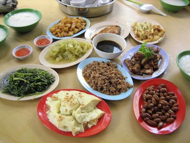 Teochew Porridge Singapore best food