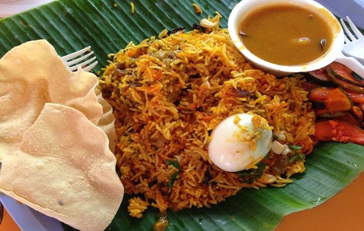 briyani rice Singapore best food