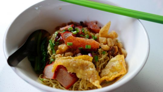 wanton mee Singapore food