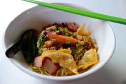 wanton mee Singapore food